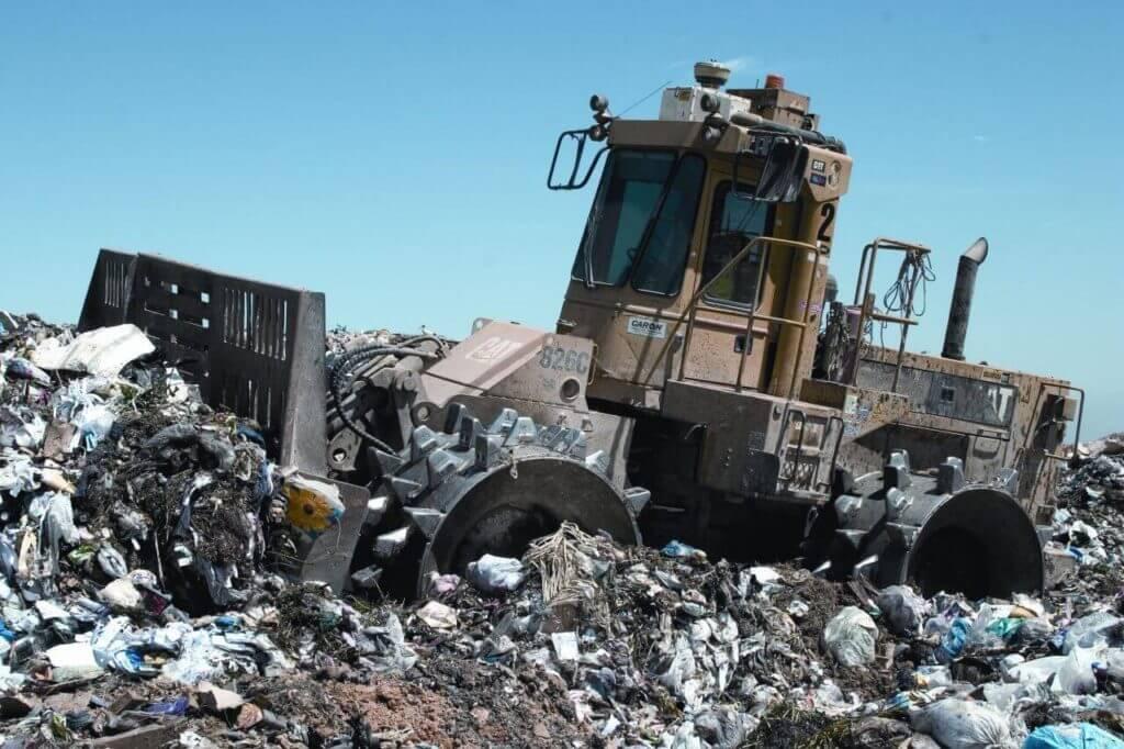 Waste disposal warehouse