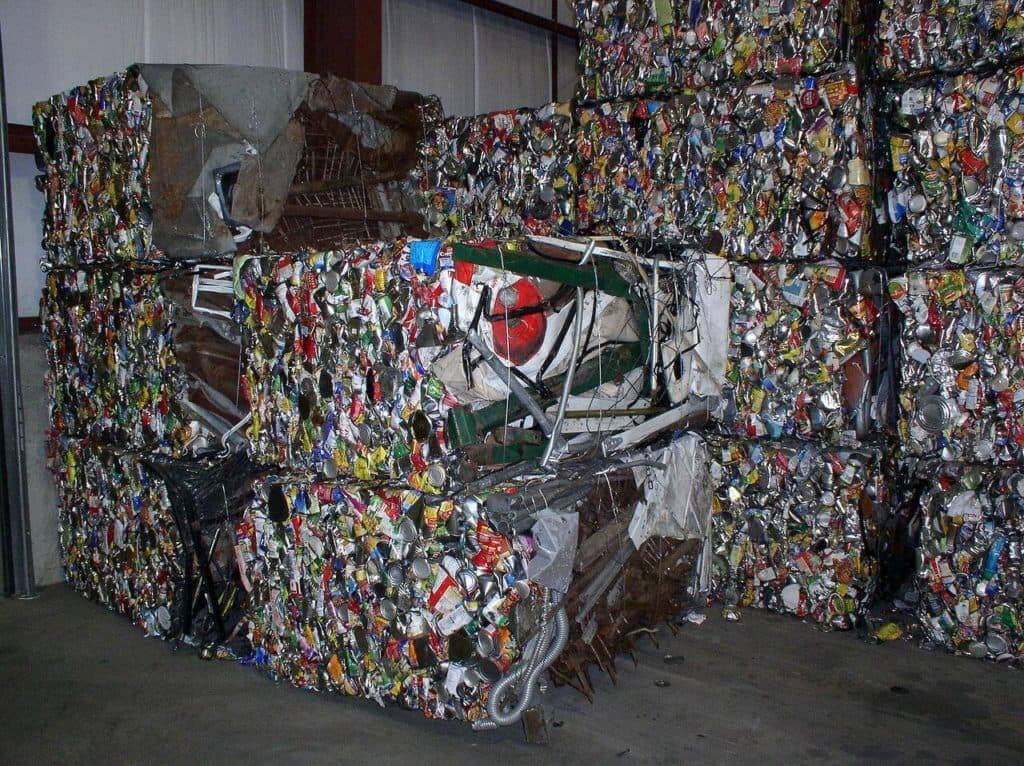 material recovery in waste disposal